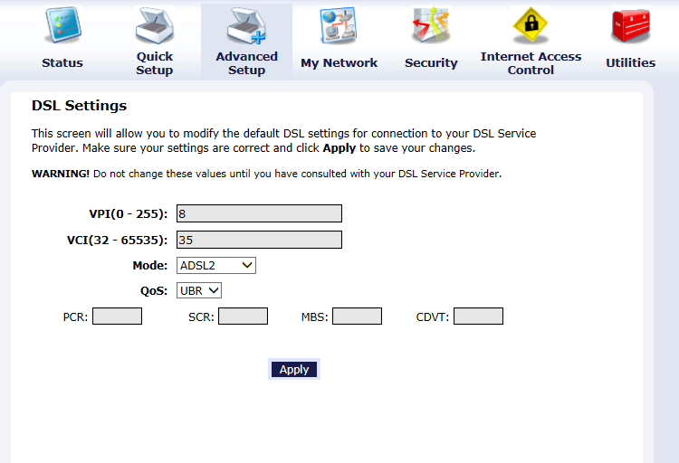 How to Configure a Actiontec DSL Modem for Century Link | techspeeder