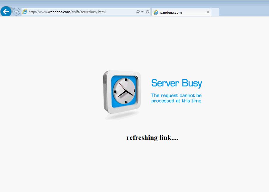 Server Busy