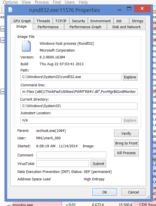 ThinkPad Power Management PwrMgrBkGndMonitor