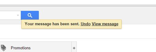 Undo Send Message Gmail