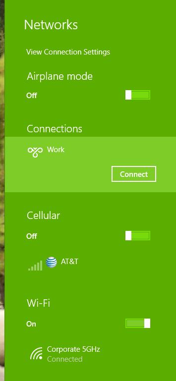 Windows 10 VPN Connection Edits