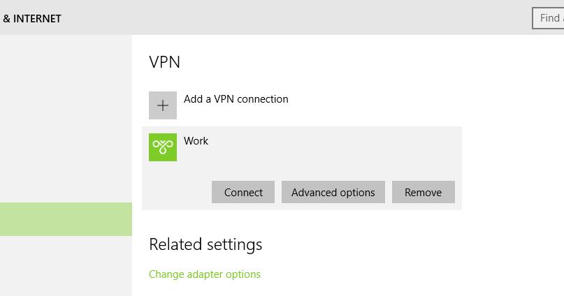 Windows 10 VPN –