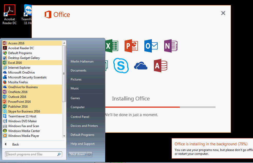 Learning how to use Office Deployment Toolkit 2016 | techspeeder