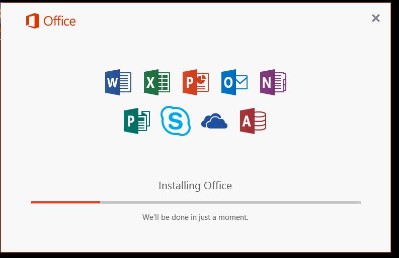 Office 2016 Installtion
