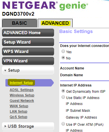 Tip: How to Setup NETGEAR N600 DGND3700 with CenturyLink