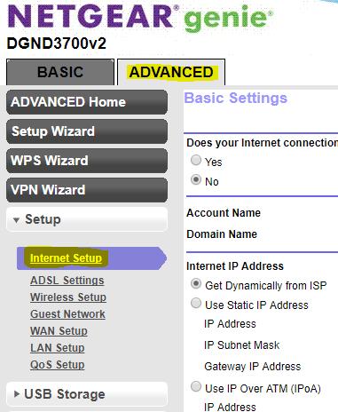 CenturyLink Netgear N600 Internet Setup