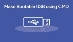 make bootable usb with cmd