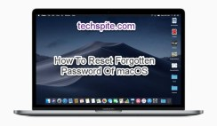 How To Reset Forgotten Password Of macOS Mojave