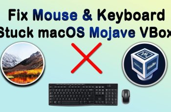 How to Fix Mouse & Keyboard Stuck on macOS Mojave on VirtualBox