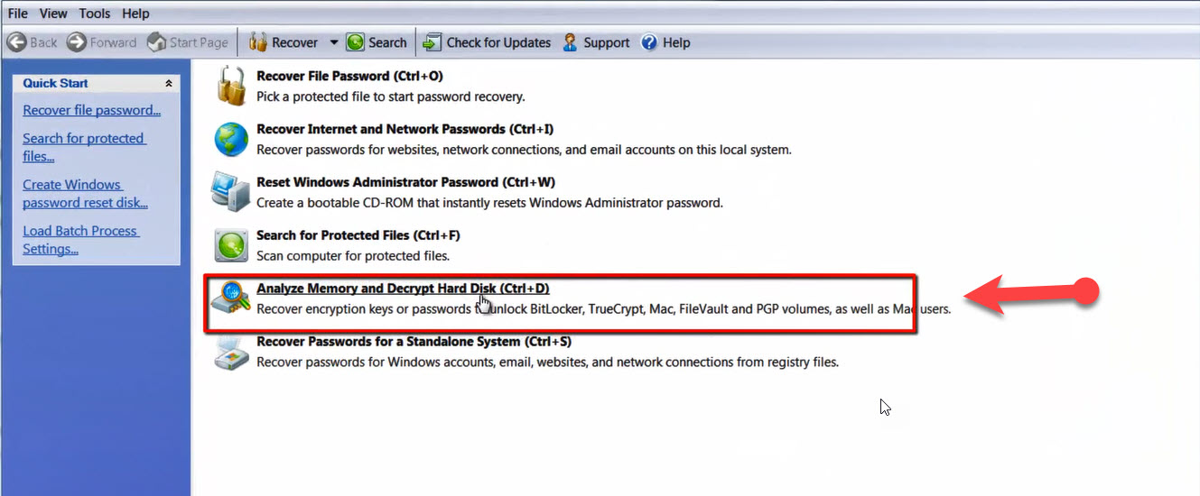Windows 7 Password Recovery Bitlocker Finding a lost
