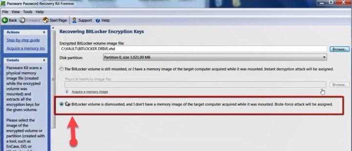 How To Break BitLocker Password And Disable It