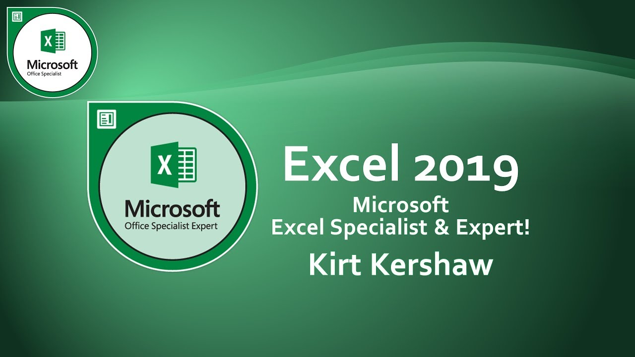 Ms. Excel 2019