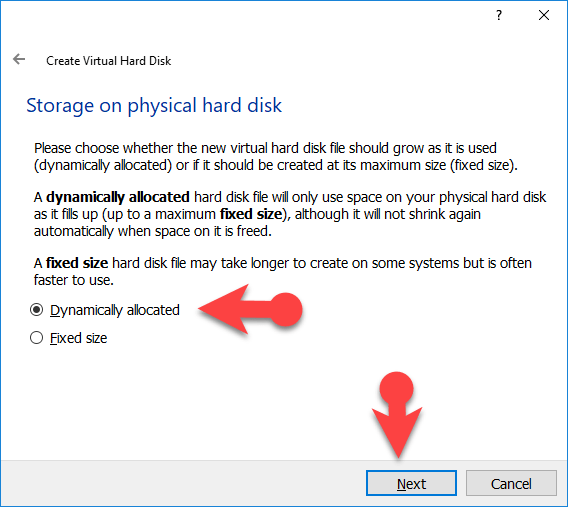 Storage or physical Hard disk