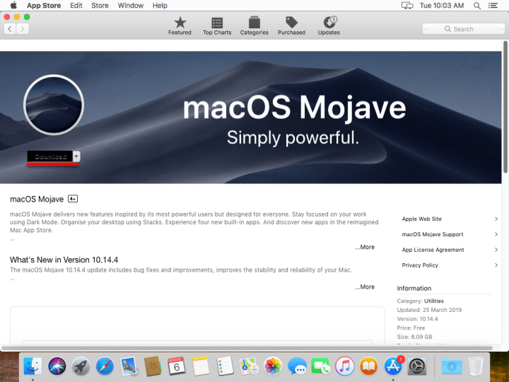 How to Upgrade MacOS High Sierra to MacOS Mojave on VMware