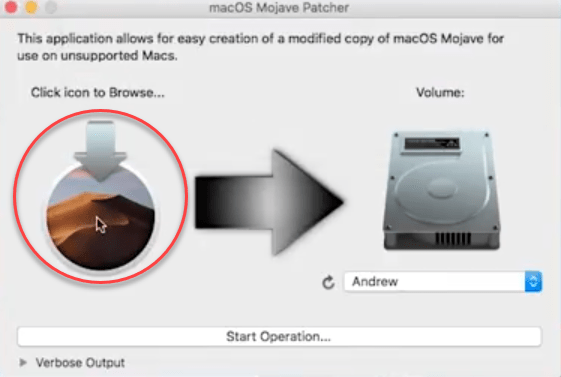 Open MacOS Mojave Patcher