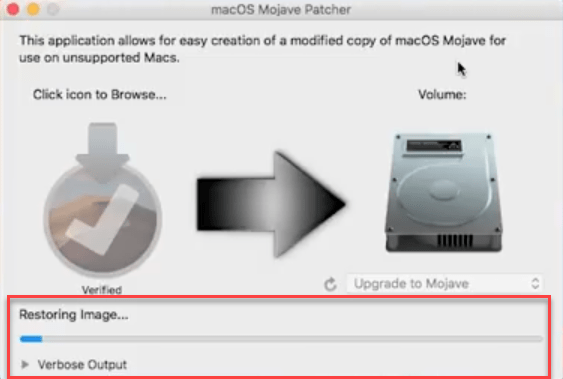 Copying the file to USB drive