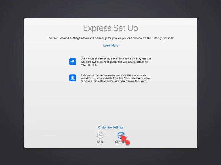 Express Setup