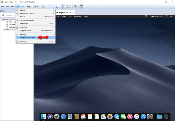 How to Install VMware Tools on MacOS Mojave on VMware