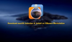 Download macOS Unlocker & Install on VMware Workstation