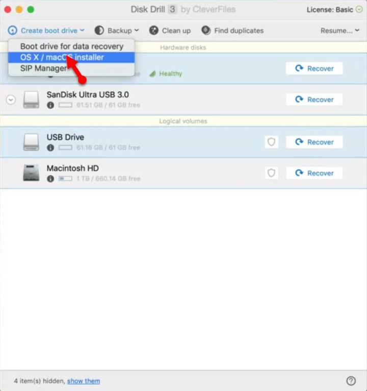 OS X / MacOS Installer