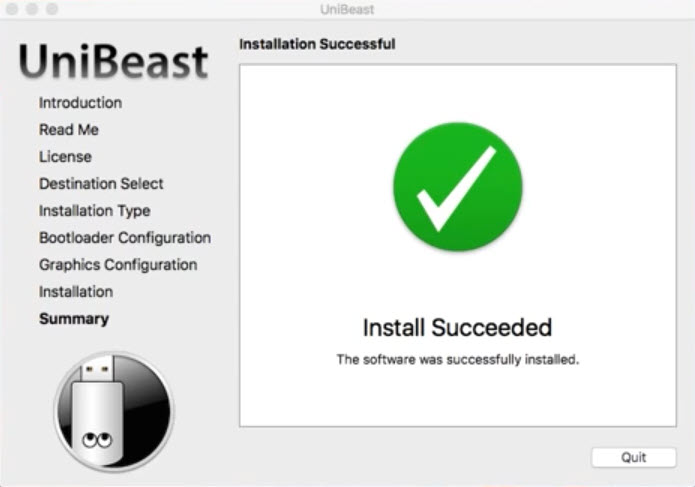 Install Succeeded