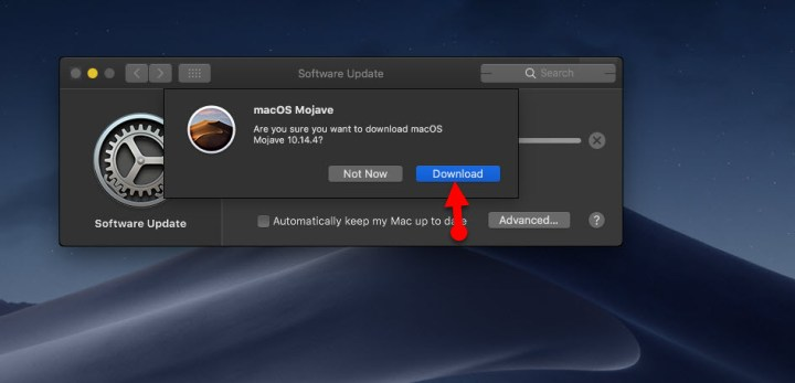 Download macOS Mojave