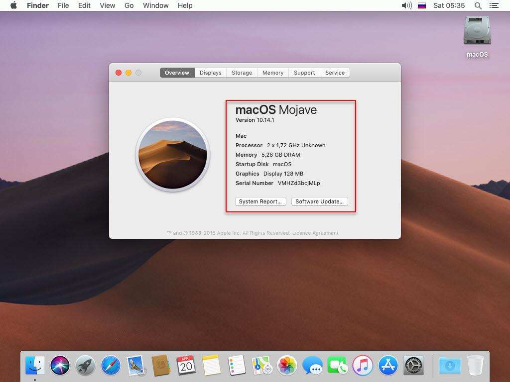 Install macOS Mojave 10.14.1