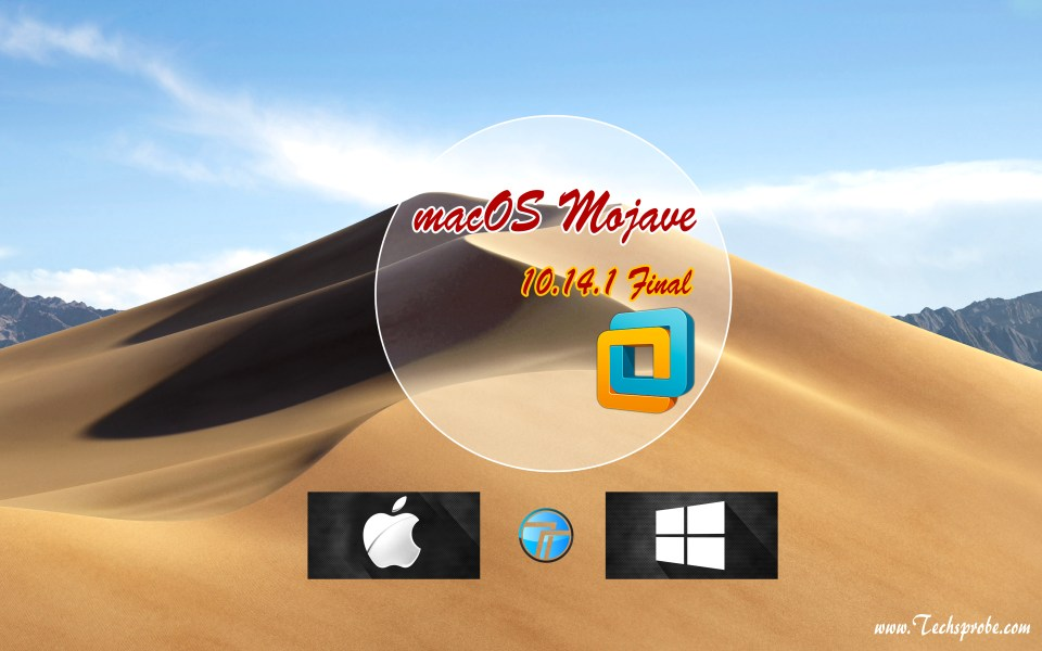 How to install macOS Mojave 10.14.1 on VMware on Windows?