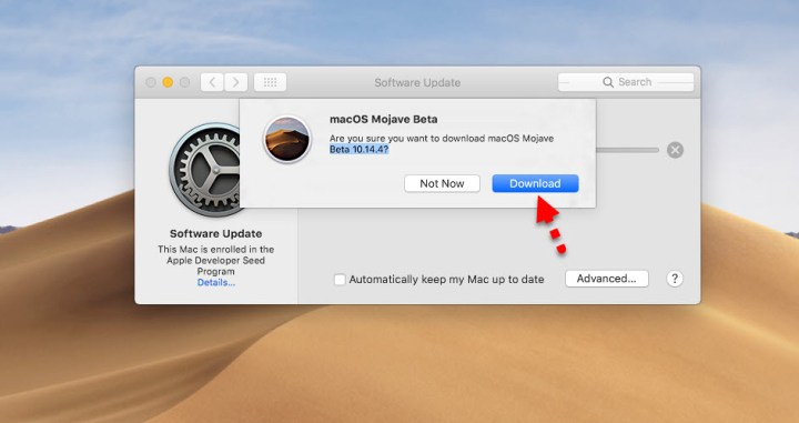 Download macOS Mojave 10.14.4 update