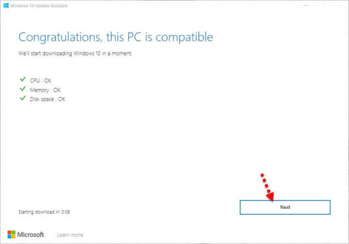 This PC is compatible