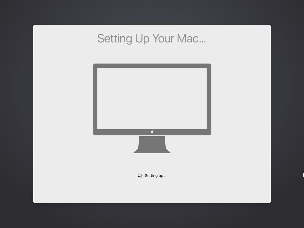 Setting your Mac