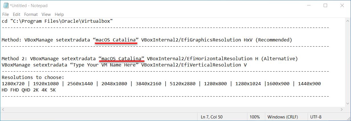 Change VM name
