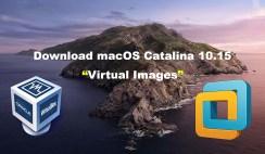 Download macOS Catalina VirtualBox and VMware Image