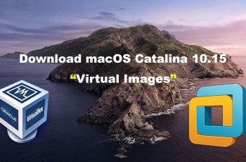 Download macOS Catalina VirtualBox and VMware Image