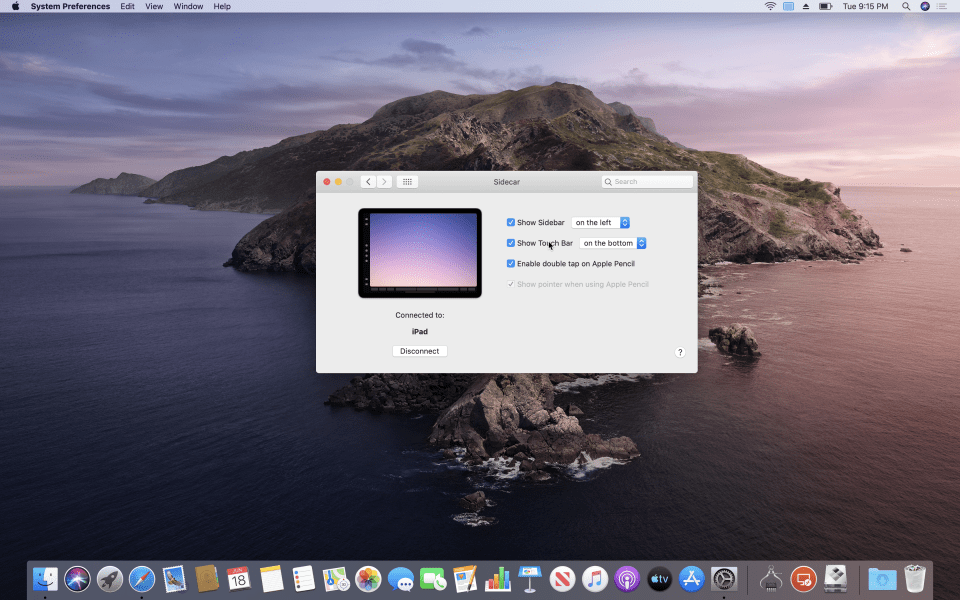 How to Use Sidecar in macOS Catalina 10.15