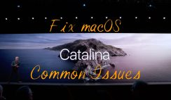 How to Fix macOS Catalina 10.15 common issues