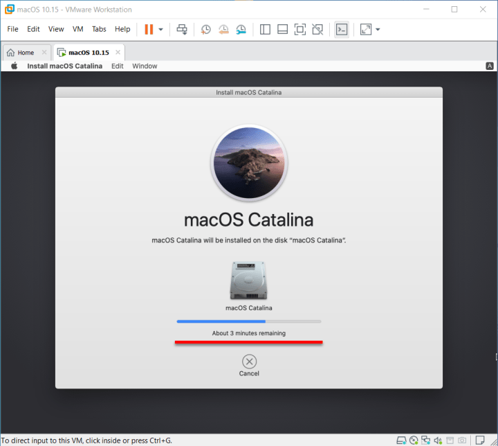 Installing macOS Catalina