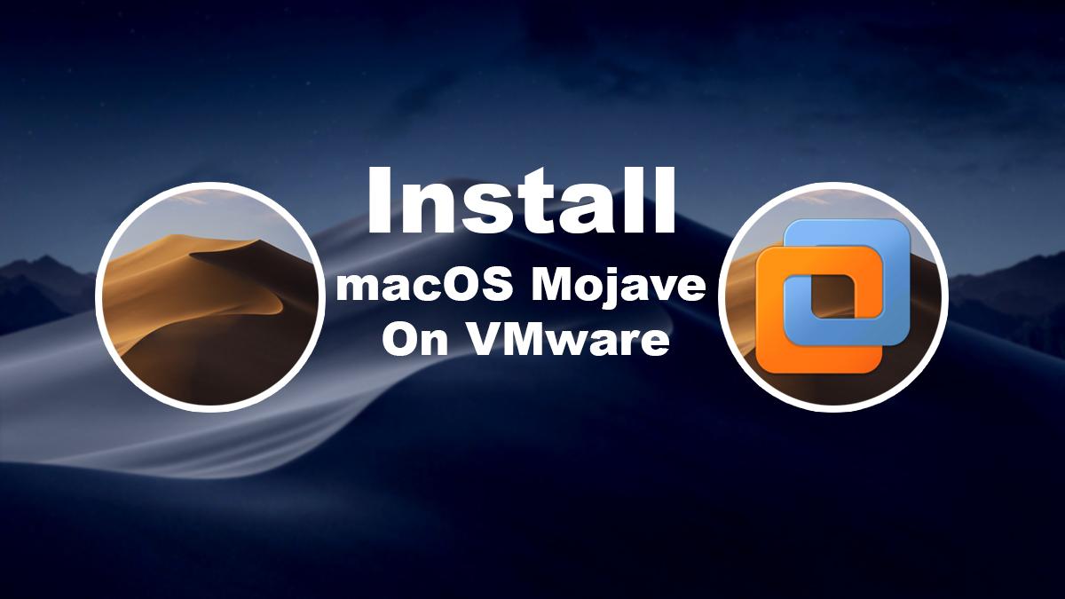 Install macOS Catalina on VMware on Windows PC [New Method]