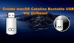 How to create macOS Catalina Bootable USB Via Unibeast