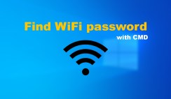 How to Find WiFi password through Command Prompt [CMD]