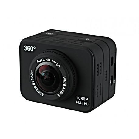 Camera Sport Panoramica 360 grade X360 Allview VR 1080P Full HD 12MP Waterproof WiFi ActionCam