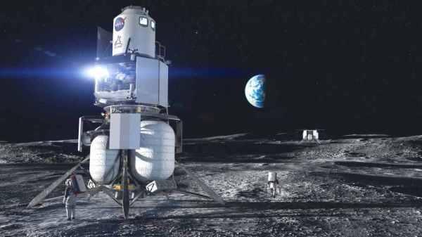 Blue Origin's Human Landing System (HLS) team delivered ...