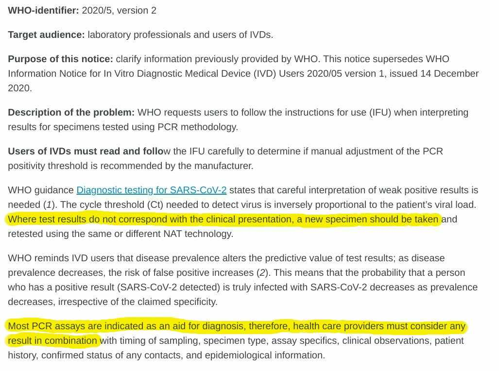 WHO releases new tightened guidelines regarding the diagnostic criteria for COVID-19. PCR positive no longer means you have COVID-19. You need a second test to confirm you have the virus   Tech News   Startups News