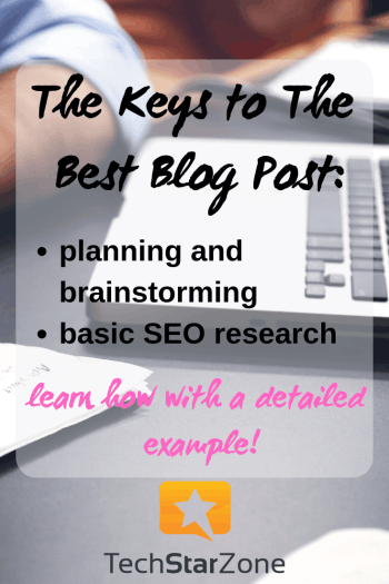 best blog post example seo research