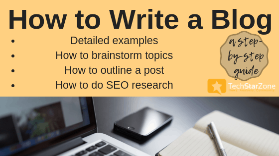 how to write a blog guide blogging seo