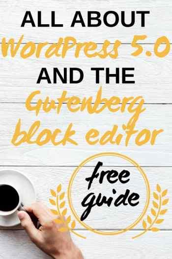 WordPress 5.0 block editor Gutenberg tips and tricks