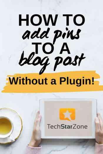 pinterest pins on blog for traffic