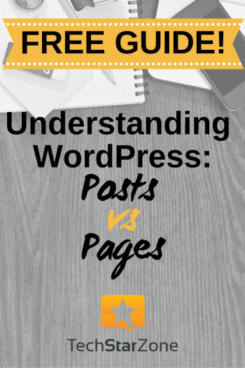 understanding wordpress posts vs pages