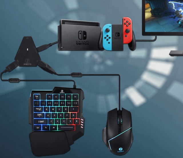 c91 switch keyboard and mouse for nintendo switch