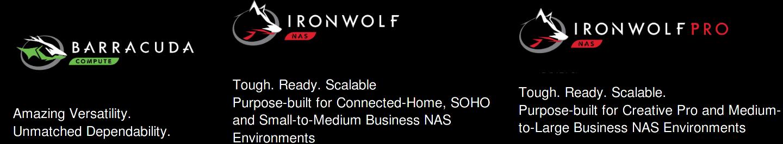 seagate barracuda-ironwolf